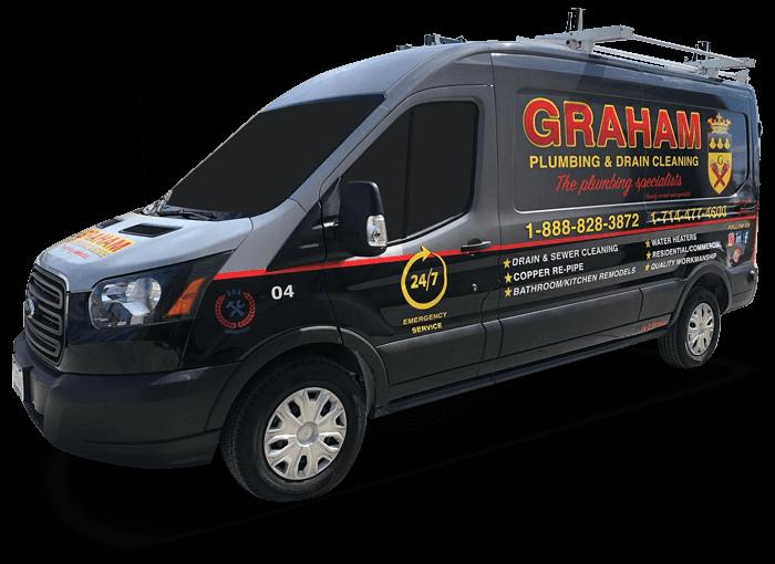 graham plumbing truck